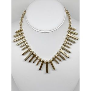 Banana Republic Gold Bar Necklace